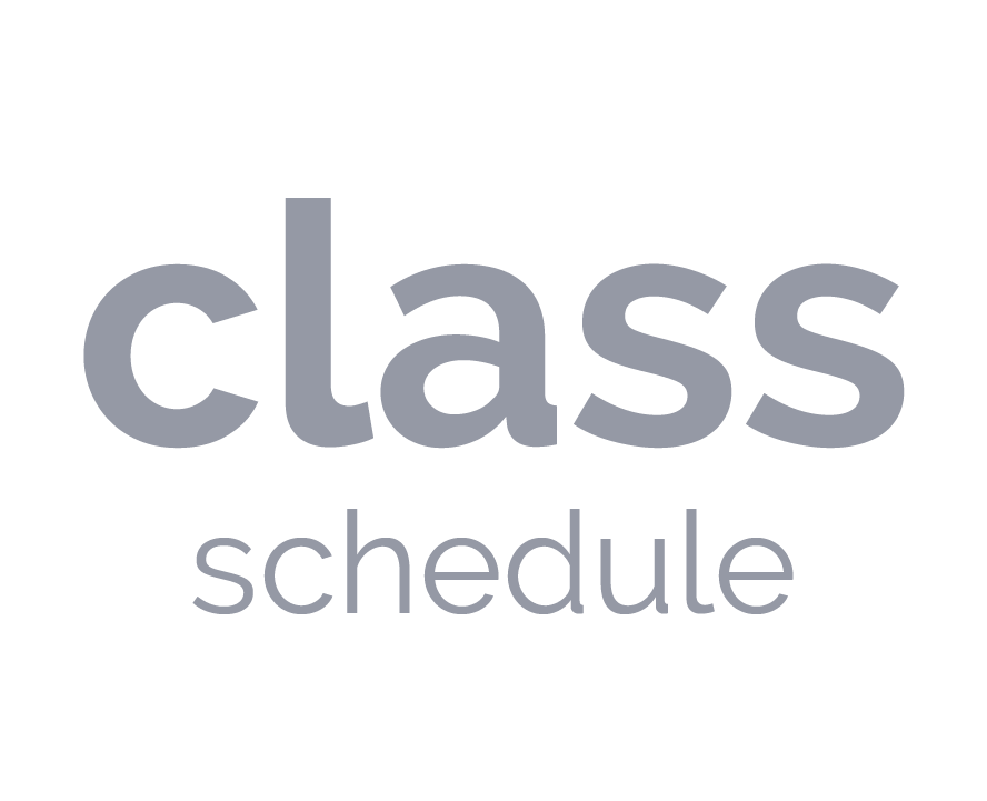 class schedule button that links to a page with the specialty class schedule